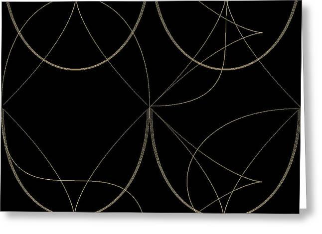 Geometric Image Greeting Cards - Tiles.2.359 Greeting Card by Gareth Lewis
