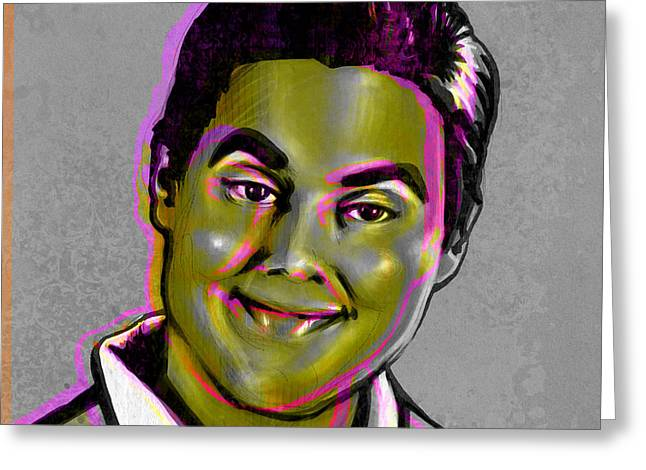 Job Greeting Cards - Tim Heidecker Greeting Card by Fay Helfer