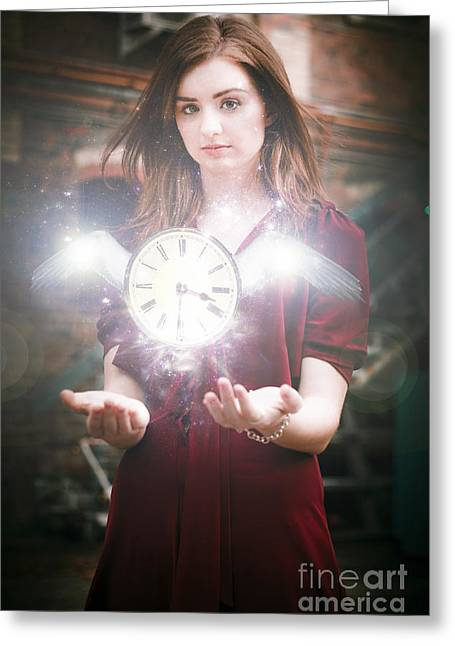 Time Flies Greeting Card by Jorgo Photography - Wall Art Gallery
