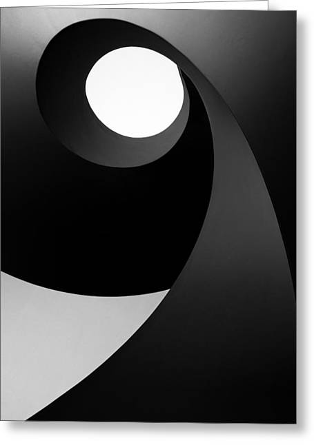 Time For Light Greeting Card by Paulo Abrantes