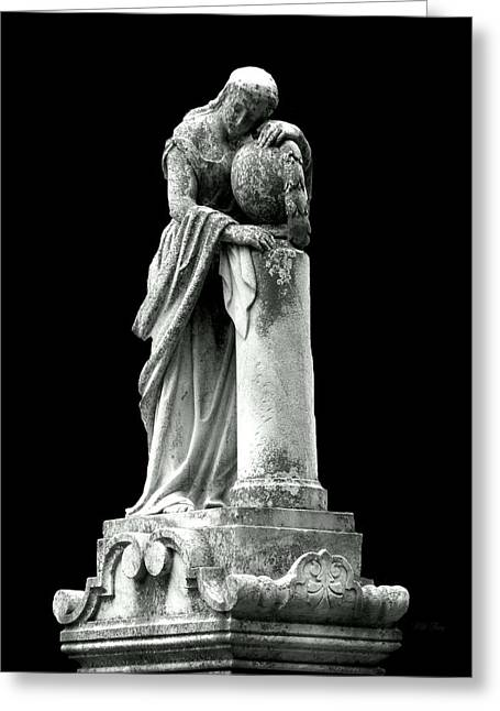Greek Sculpture Greeting Cards - Time is On Her Side Greeting Card by Wild Thing