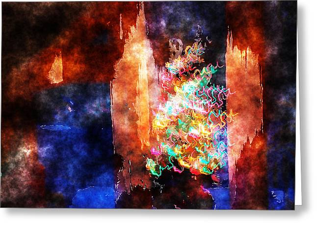 Portal Greeting Cards - Time Portal Greeting Card by Patricia Motley