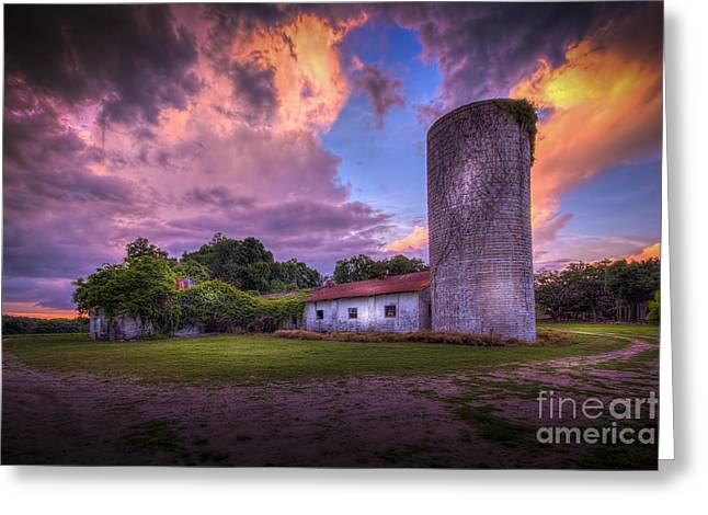 Barn Yard Photographs Greeting Cards - Time Tested Greeting Card by Marvin Spates