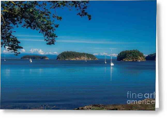 Time To Relax Greeting Card by Robert Bales