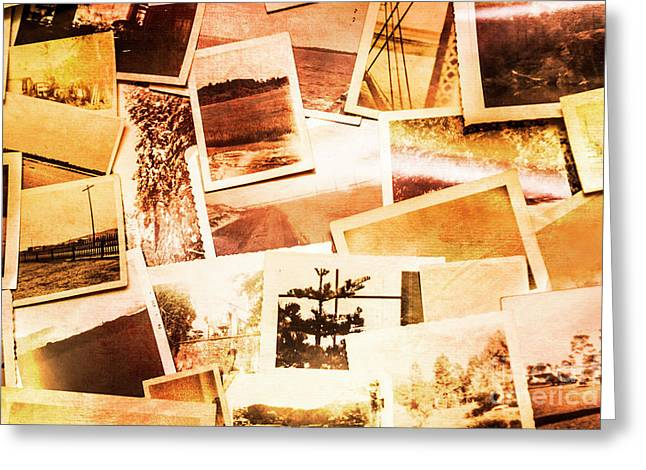 Time Worn Scenes And Places Background Greeting Card by Jorgo Photography - Wall Art Gallery