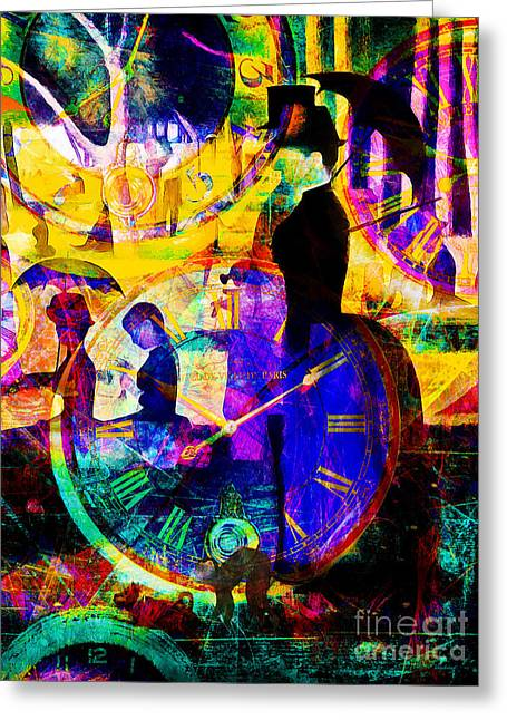 Timeless Art A Sunday On La Grande Jatte 20160229 Vertical Greeting Card by Wingsdomain Art and Photography