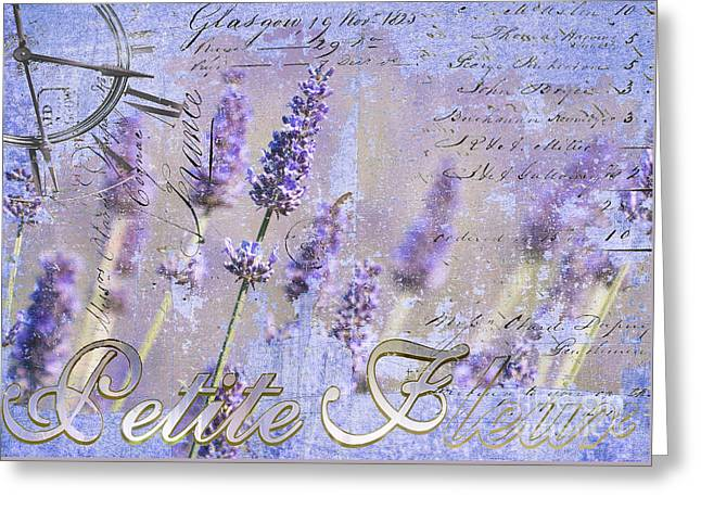 Shower Curtain Greeting Cards - Timeless Lavender Paris Flower Shop  Greeting Card by Anahi DeCanio - ArtyZen Studios