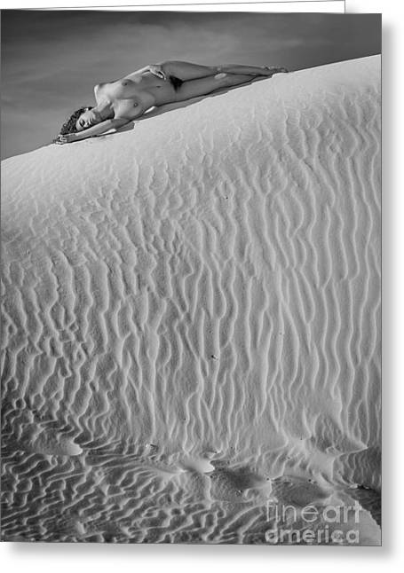 Timeless Sand Greeting Card by Inge Johnsson