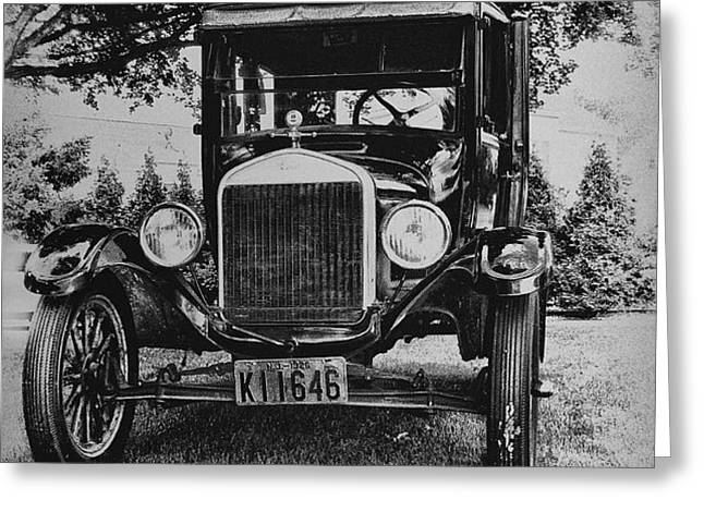 Tin Lizzy - Ford Model T Greeting Card by Bill Cannon