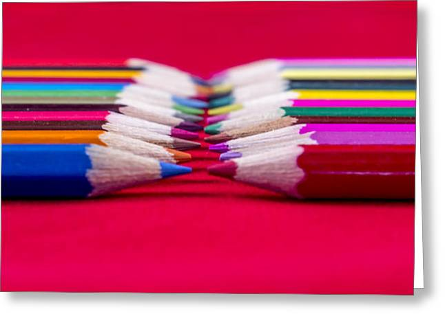 Coloured Greeting Cards - Tips Greeting Card by Angela Aird