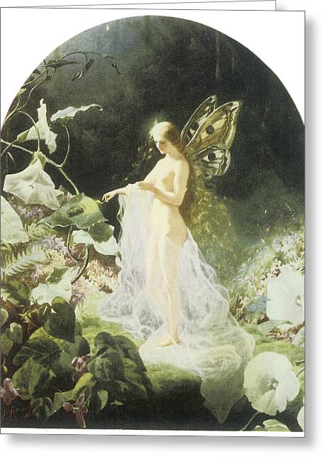 Titania Greeting Card by John Simmons