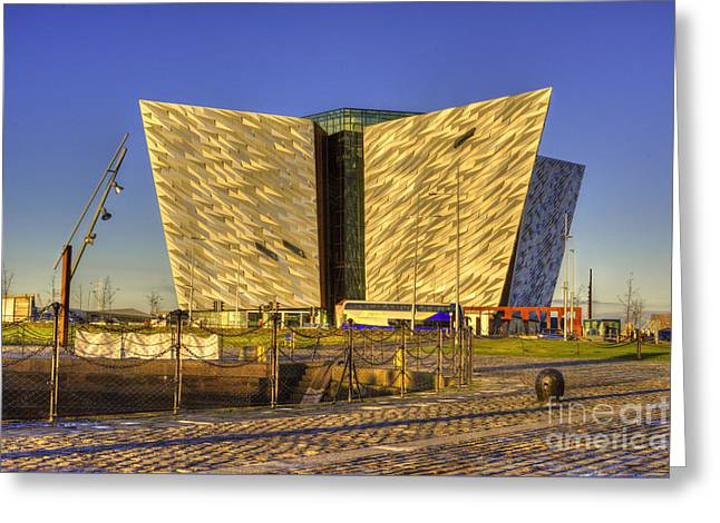 Titanic Belfast Greeting Card by Juli Scalzi