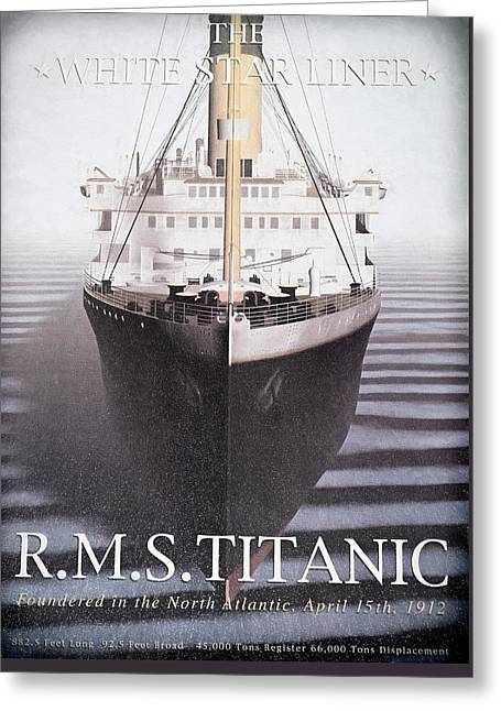 Titanic Greeting Card by Donna Kennedy