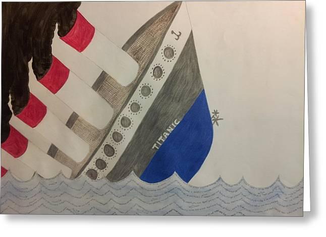 Titanic Dream Greeting Card by William Douglas