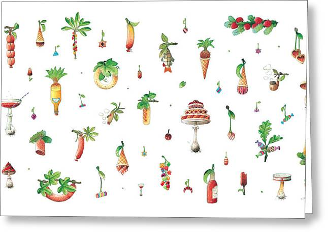 Dainty Greeting Cards - Titbit Greeting Card by Kestutis Kasparavicius