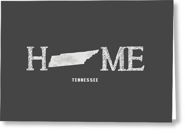 Franklin Tn Greeting Cards - TN Home Greeting Card by Nancy Ingersoll