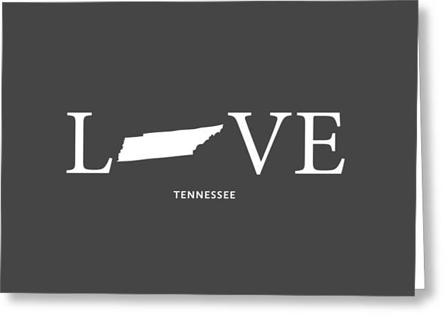 Franklin Tn Greeting Cards - TN Love Greeting Card by Nancy Ingersoll