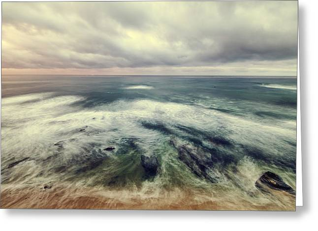 California Ocean Photography Greeting Cards - To The Sea Greeting Card by Joseph S Giacalone