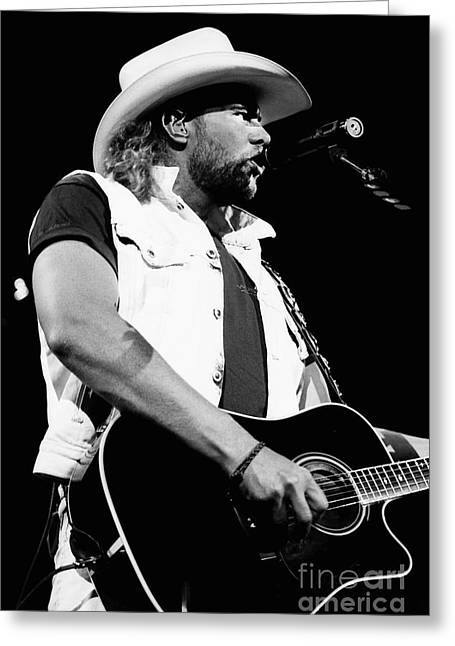 Popular Art Greeting Cards - Toby Keith 95-1552 Greeting Card by Gary Gingrich Galleries