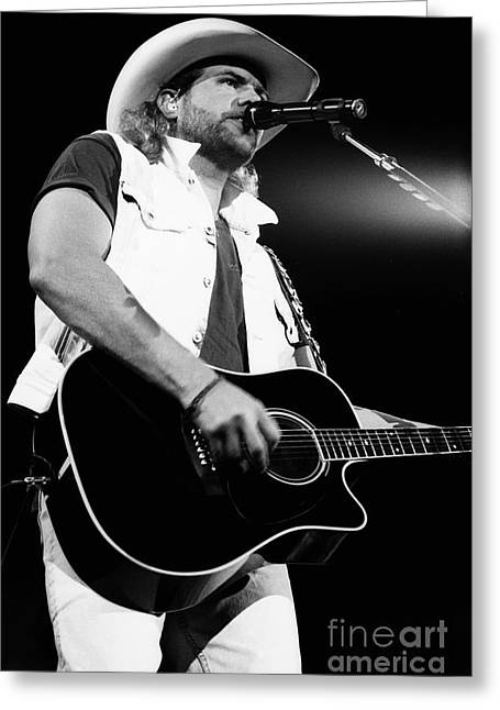 Popular Art Greeting Cards - Toby Keith 95-1553 Greeting Card by Gary Gingrich Galleries