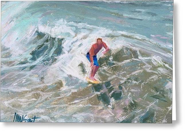 On The Beach Pastels Greeting Cards - Toes on the Nose Greeting Card by Michelle Wells Grant