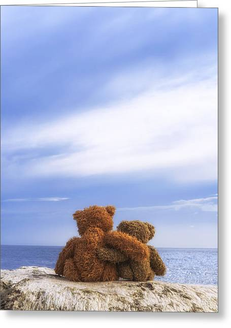 Cuddly Photographs Greeting Cards - Together Greeting Card by Joana Kruse