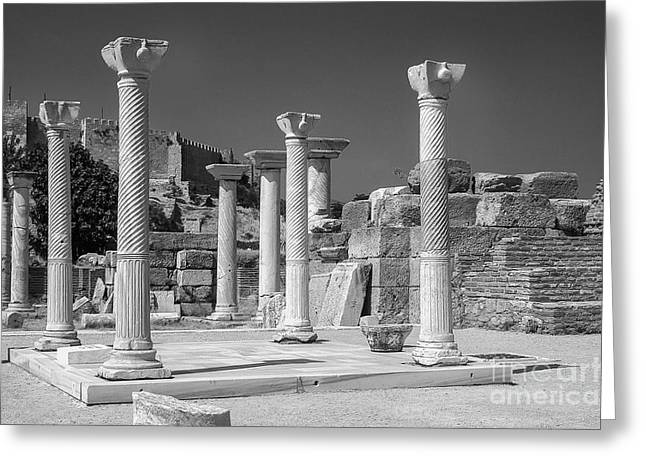 Selcuk Greeting Cards - Tomb of St. John 2 Greeting Card by Bob Phillips