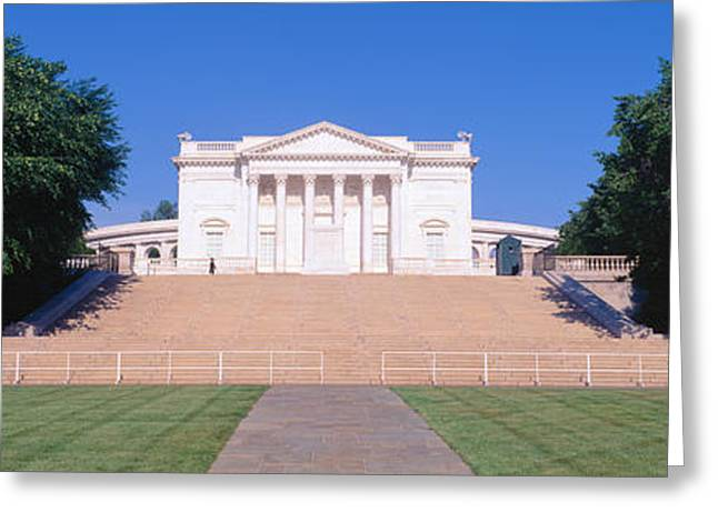 United States Capitol Greeting Cards - Tomb Of The Unknown Soldier, Arlington Greeting Card by Panoramic Images