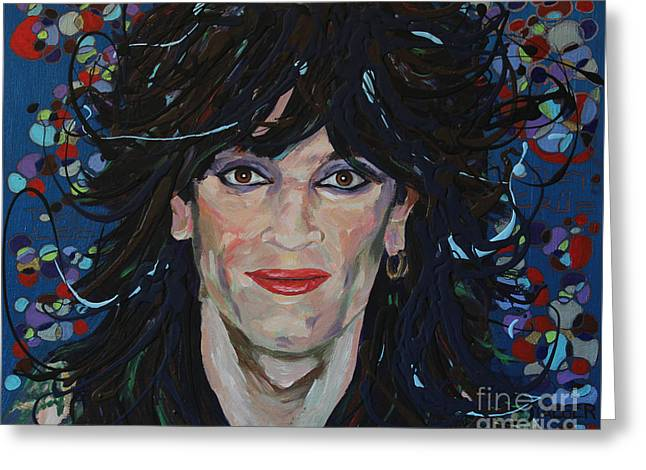 Ying Greeting Cards - Tommy Lee 80s Hair Bands Motley Crue Greeting Card by Robert Yaeger