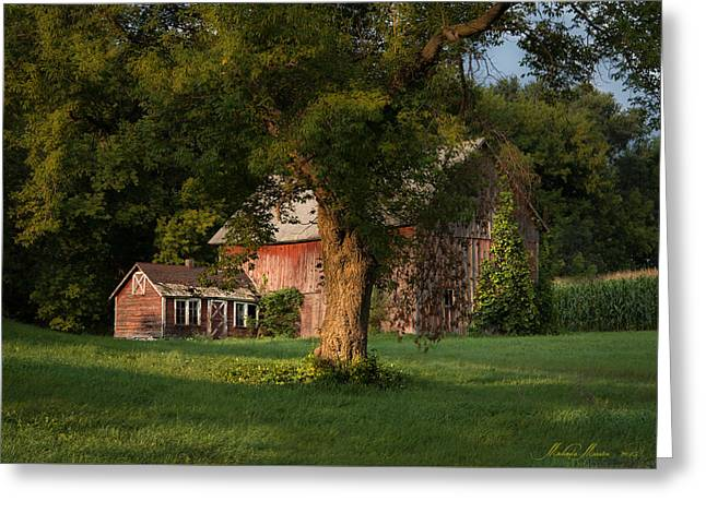 Fineartamerica Greeting Cards - Tonight we Rest Greeting Card by Melinda Martin