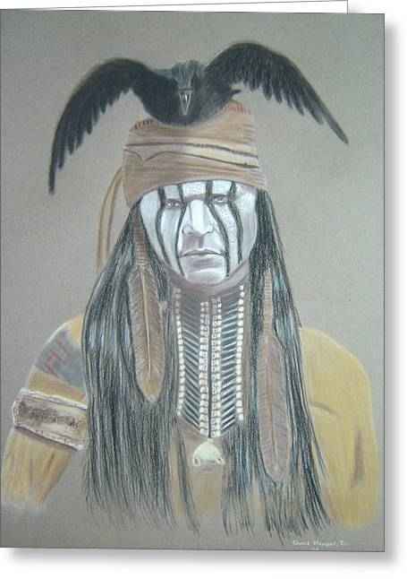 Tonto Greeting Card by Edward Stamper