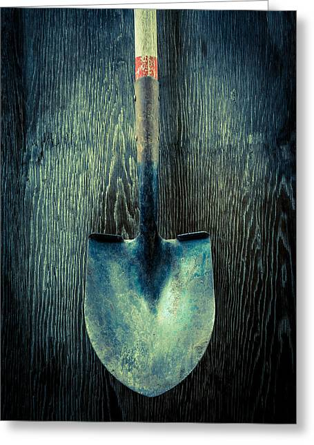 Ground Greeting Cards - Tools On Wood 15 Greeting Card by Yo Pedro