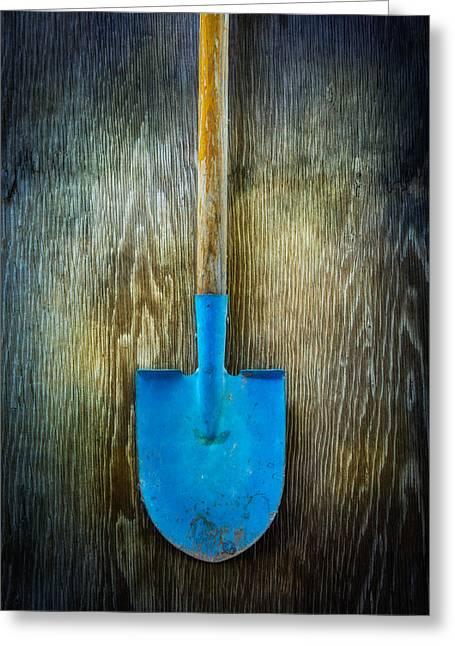 Tools On Wood 23 Greeting Card by Yo Pedro