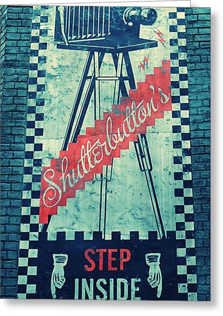Directional Signage. Greeting Cards - Top Notch Shots Greeting Card by Laurie Perry