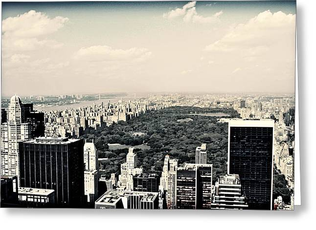 Best Sellers -  - The Nature Center Greeting Cards - Top of the Rock Greeting Card by Ariane Moshayedi