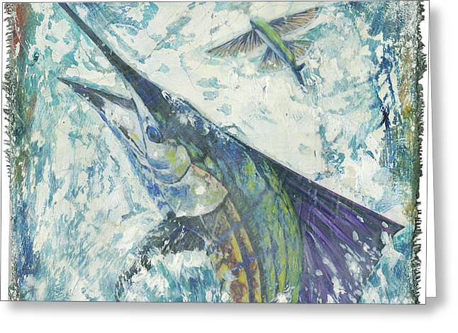 Top Sail II Greeting Card by Danielle Perry