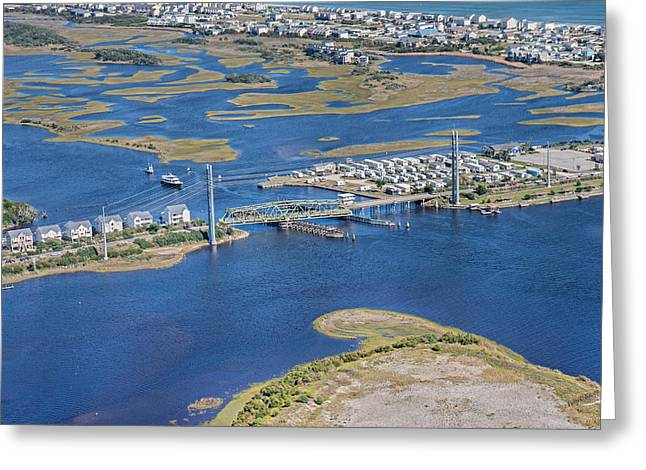 Topsail Island The Iron Lady Greeting Card by Betsy Knapp