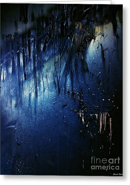 Light And Dark Greeting Cards - Torment - 1 Greeting Card by Sarah  Rachel