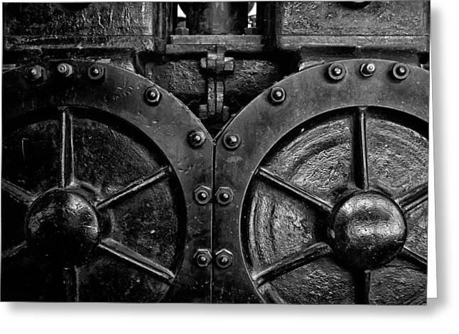 Industrial Background Greeting Cards - Toronto Distillery District 1 Greeting Card by Brian Carson