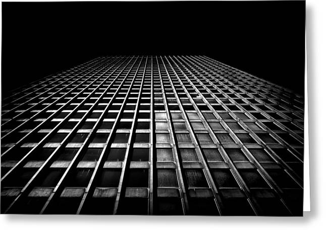 Abstract Geometric Greeting Cards - Toronto Dominion Centre No 100 Wellington St W Greeting Card by Brian Carson