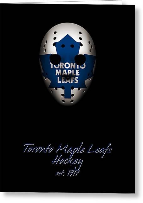 Toronto Maple Leafs Established Greeting Card by Joe Hamilton