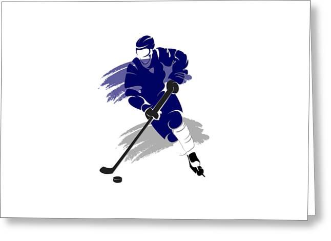 Toronto Maple Leafs Player Shirt Greeting Card by Joe Hamilton
