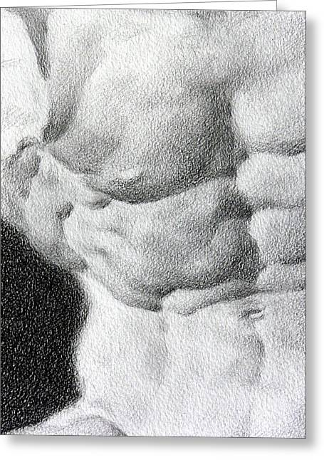 Valeriy Mavlo Greeting Cards - Torso 1b Greeting Card by Valeriy Mavlo