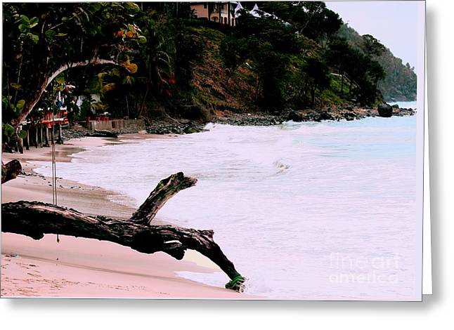 Ocean Scenes Greeting Cards - Tortola BVI Greeting Card by Tom Prendergast