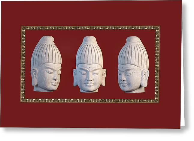 Choosing Sculptures Greeting Cards - Tote bag Burmese 31 PB Greeting Card by Terrell Kaucher