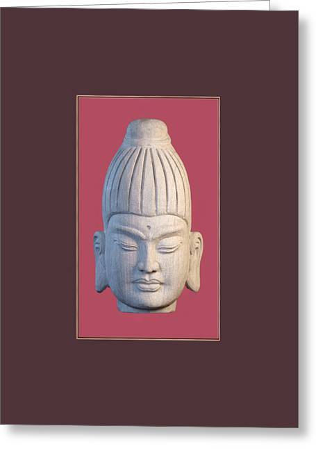 Choosing Sculptures Greeting Cards - Tote bag Burmese CP Greeting Card by Terrell Kaucher