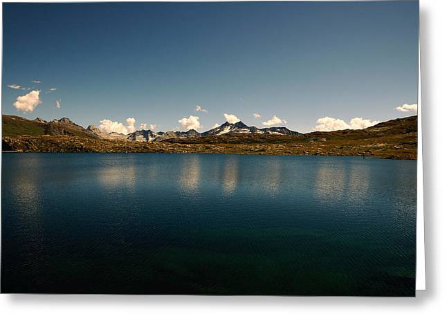 Swiss Photographs Greeting Cards - Totensee Switzerland Greeting Card by Sindy Stohler