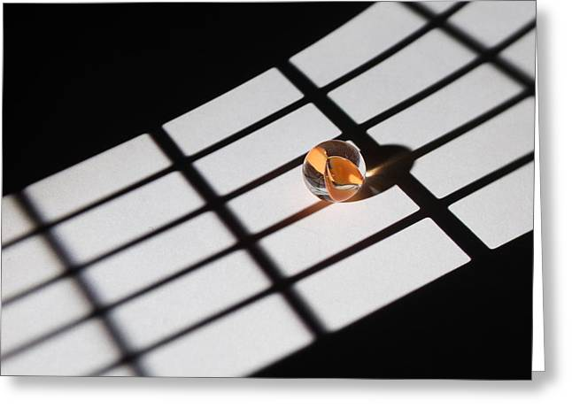 Artist Photographs Greeting Cards - Touch of Gold. Light and Sahdows Greeting Card by Dmitry Soloviev