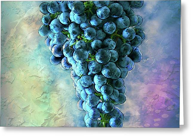 Touch Of The Grape 2 Greeting Card by Jack Zulli