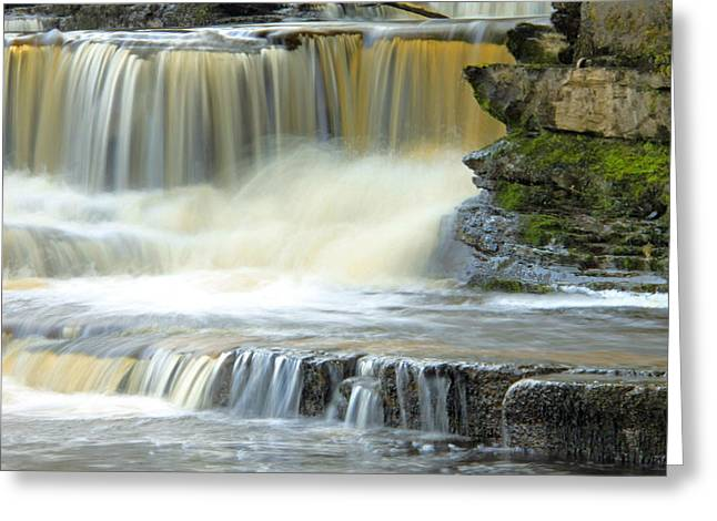 Ennistymon Greeting Card featuring the photograph Touch Of Water by Martina Fagan